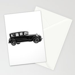 Vintage car - Packard eight limousine sedan Stationery Cards