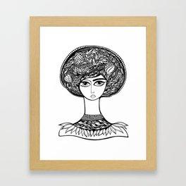 Queen Artichoke Framed Art Print