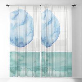 8     Abstract Geometric   191015 Sheer Curtain