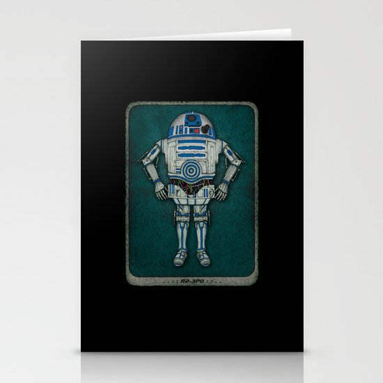 R2 3PO Stationery Cards