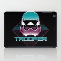 trooper iPad Cases featuring TROOPER by MEKAZOO