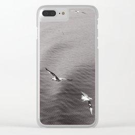 t e x t i l e   s e a Clear iPhone Case