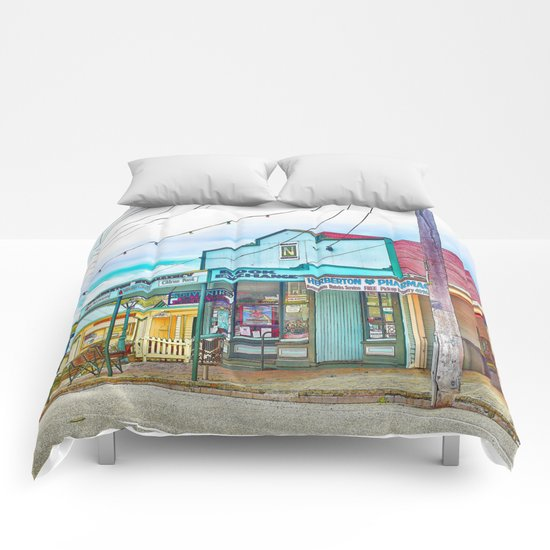Welcoming village shop Comforters