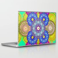 psychedelic Laptop & iPad Skins featuring psychedelic  by Thedevilguru