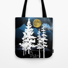 Full Moon Rising II Tote Bag