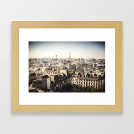 Paris #1 Framed Art Print