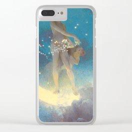 """Edwin Blashfield """"Spring Scattering Stars"""" Clear iPhone Case"""