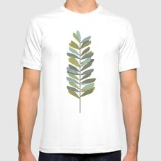Branch 4 Mens Fitted Tee MEDIUM White