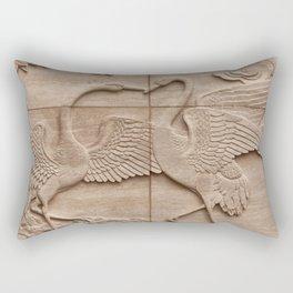 Big birds Rectangular Pillow