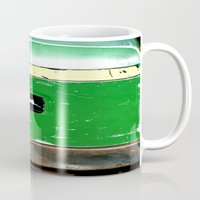 john green Mugs featuring John Deere Green..... by LeeRay Flowers