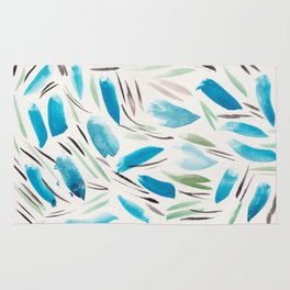 11   | Watercolor Patterns Abstract 181214 Rug