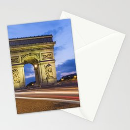 PARIS Arc de Triomphe Stationery Cards