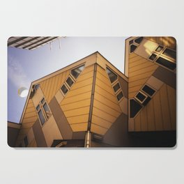 Cube houses Cutting Board
