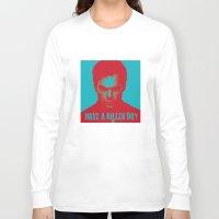 dexter Long Sleeve T-shirts featuring Dexter by muffa