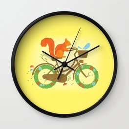Natural Cycles Wall Clock