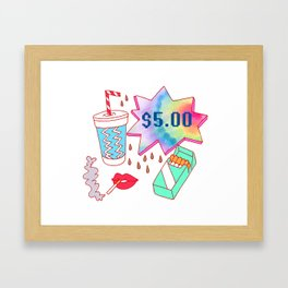 $5 Framed Art Print