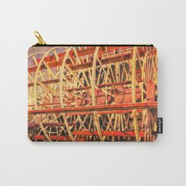 Paddle Wheel Reflection Carry-All Pouch