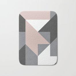 geometric 1 Badematte