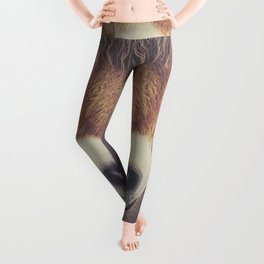 The curious girl Leggings