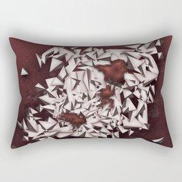 Rubies Rectangular Pillow
