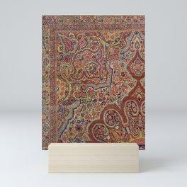 Oriental Vintage Carpet Design C13 Mini Art Print