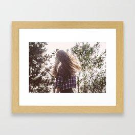 Carlota Framed Art Print