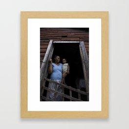 Agua Knock Framed Art Print