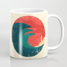 The wild ocean Kaffeebecher