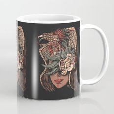 Aztec Eagle Warrior Mug