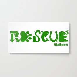 Animal Rescue Metal Print