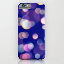 Colorful Light Reflections Design iPhone Case