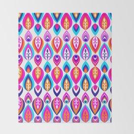 Pierrot II/Happy Memoir Pattern Throw Blanket