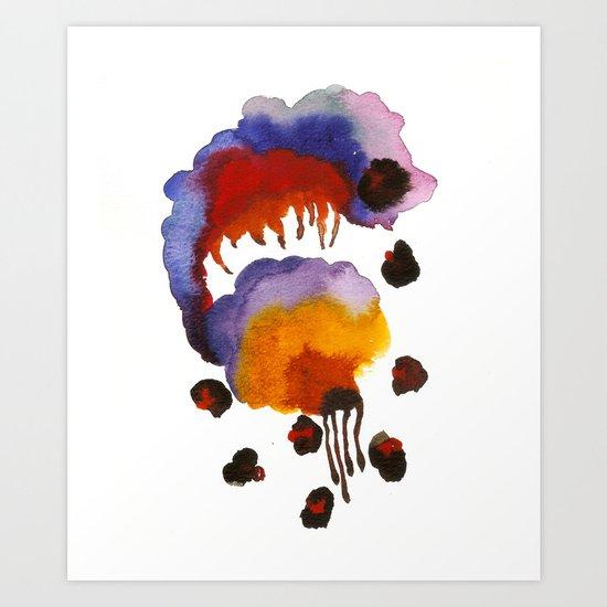 Beetle Juice Art Print