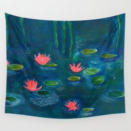 The Water Lilies Wall Tapestry