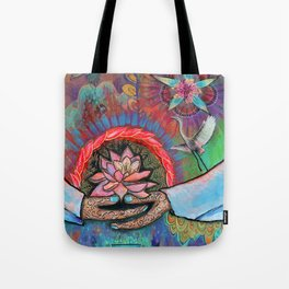 Gaia Connection Tote Bag