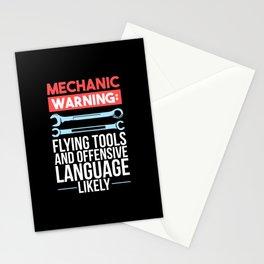 Mechanic  - Warning Stationery Cards