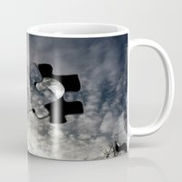 surrealism Mugs featuring Sky Surrealism. by Jess Noelle