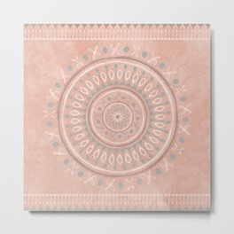 """""""Astral Lullaby"""" in Pink Metal Print"""