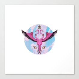 Flamingo Crest Canvas Print