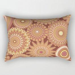 Kaleidoscopic-Canyon colorway Rectangular Pillow