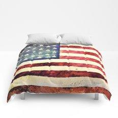 Vintage American Flag Comforters
