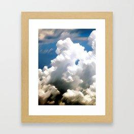 Sky Sea Framed Art Print