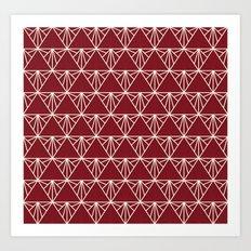 Triangle Time Art Print