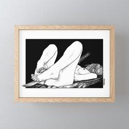asc 478 - Le compagnon fidèle (The faithful companion) Framed Mini Art Print