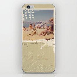 Beach Ready iPhone Skin