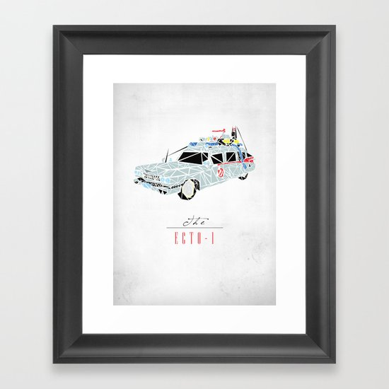 Ecto-1 Framed Art Print