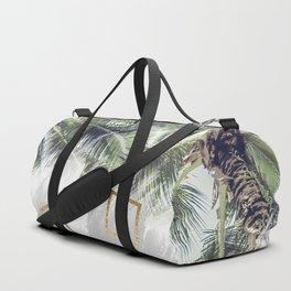 Palm trees and rhombuses Duffle Bag