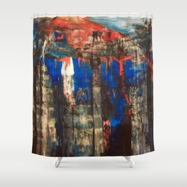 The Foot Hills Shower Curtain