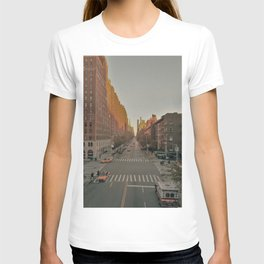 The Yellow Muted City (Color) T-shirt