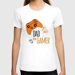 Video Game Orange T-shirt